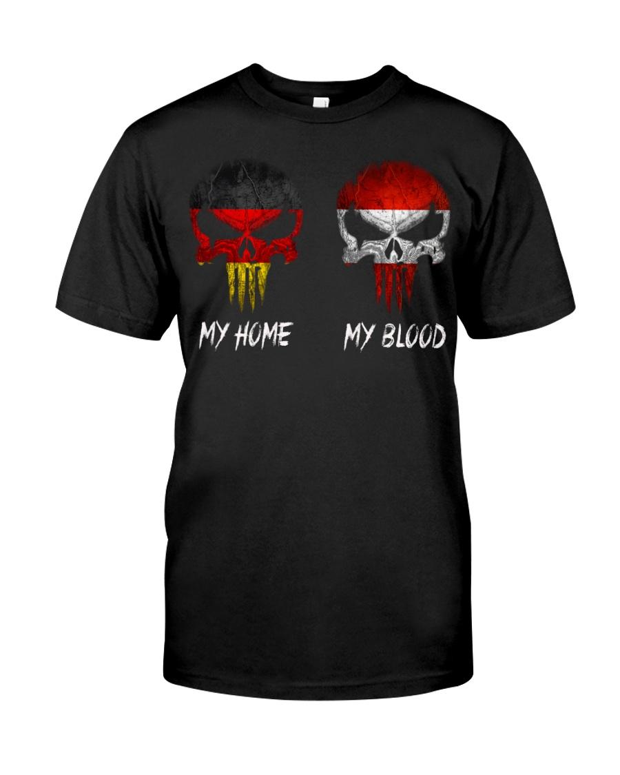 Home Germany - Blood Austria Classic T-Shirt