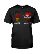 Home Germany - Blood Austria Classic T-Shirt front
