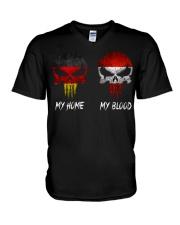 Home Germany - Blood Austria V-Neck T-Shirt thumbnail
