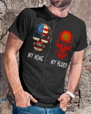 My Blood - Morocco Classic T-Shirt lifestyle-mens-crewneck-front-4
