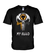 Wolves V-Neck T-Shirt thumbnail