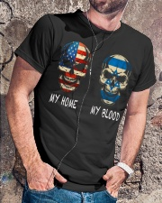 My Blood - Israel Classic T-Shirt lifestyle-mens-crewneck-front-4