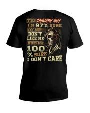 DONT CARE 1 V-Neck T-Shirt thumbnail