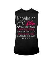 Macedonian Girl Sleeveless Tee thumbnail