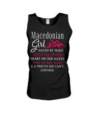 Macedonian Girl Unisex Tank thumbnail