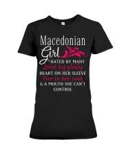 Macedonian Girl Premium Fit Ladies Tee thumbnail