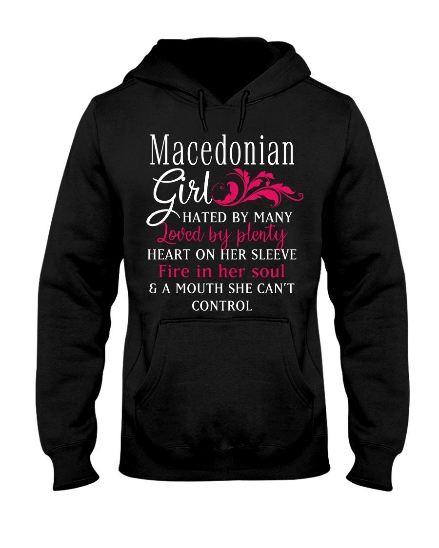 Macedonian Girl Hooded Sweatshirt