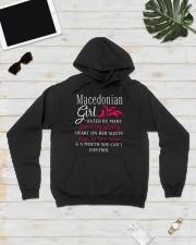 Macedonian Girl Hooded Sweatshirt lifestyle-unisex-hoodie-front-8
