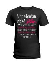 Macedonian Girl Ladies T-Shirt thumbnail
