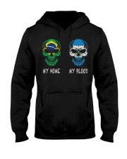 My Home Brazil - El Salvador Hooded Sweatshirt thumbnail