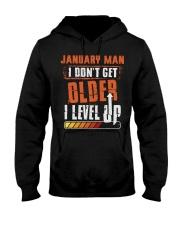 LEVEL UP 1 Hooded Sweatshirt front