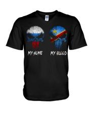 Home Russia - Blood Congo V-Neck T-Shirt thumbnail