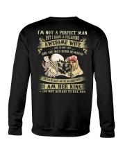 AWESOME WIFE 3 Crewneck Sweatshirt thumbnail