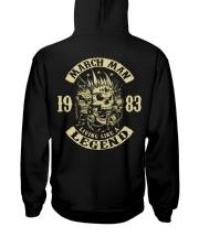 MAN 83- 3 Hooded Sweatshirt back