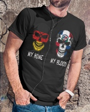 My Home Germany - Dominican Republic Classic T-Shirt lifestyle-mens-crewneck-front-4