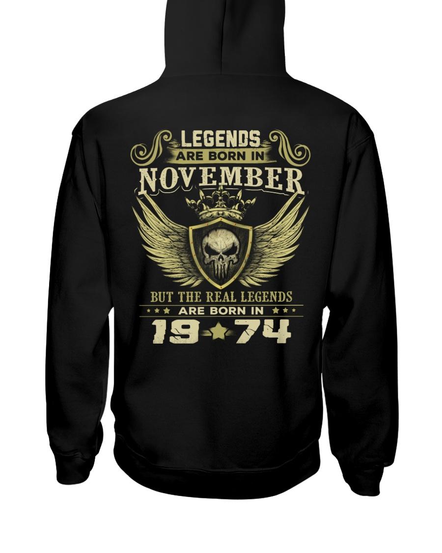 LEGENDS 74 11 Hooded Sweatshirt