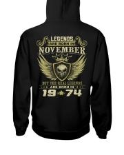 LEGENDS 74 11 Hooded Sweatshirt back