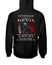 DEVIL MAN 10 Hooded Sweatshirt back