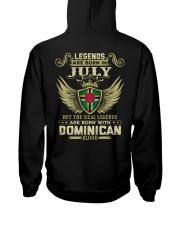LEGENDS DOMINICAN - 07 Hooded Sweatshirt thumbnail