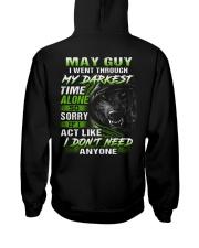 MY DARKEST 5 Hooded Sweatshirt back