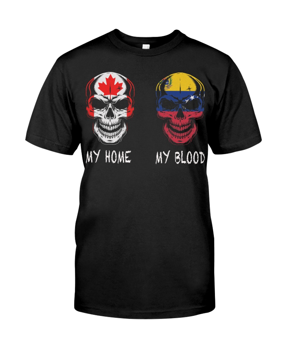 My Home Canada - Venezuela Classic T-Shirt