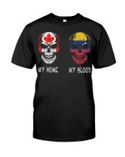 My Home Canada - Venezuela Classic T-Shirt front