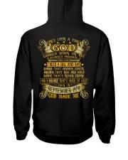 GOD 70 9 Hooded Sweatshirt back