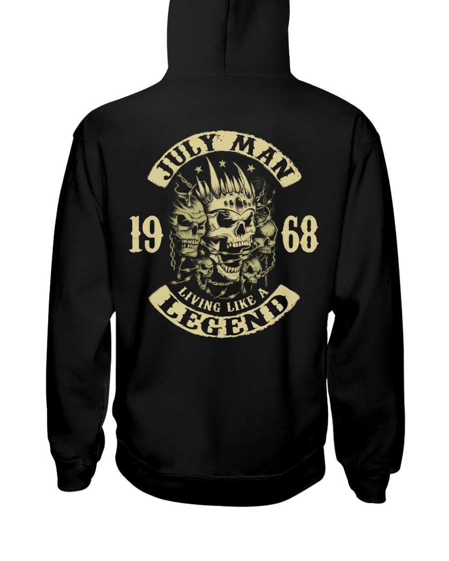 MAN 68-7 Hooded Sweatshirt