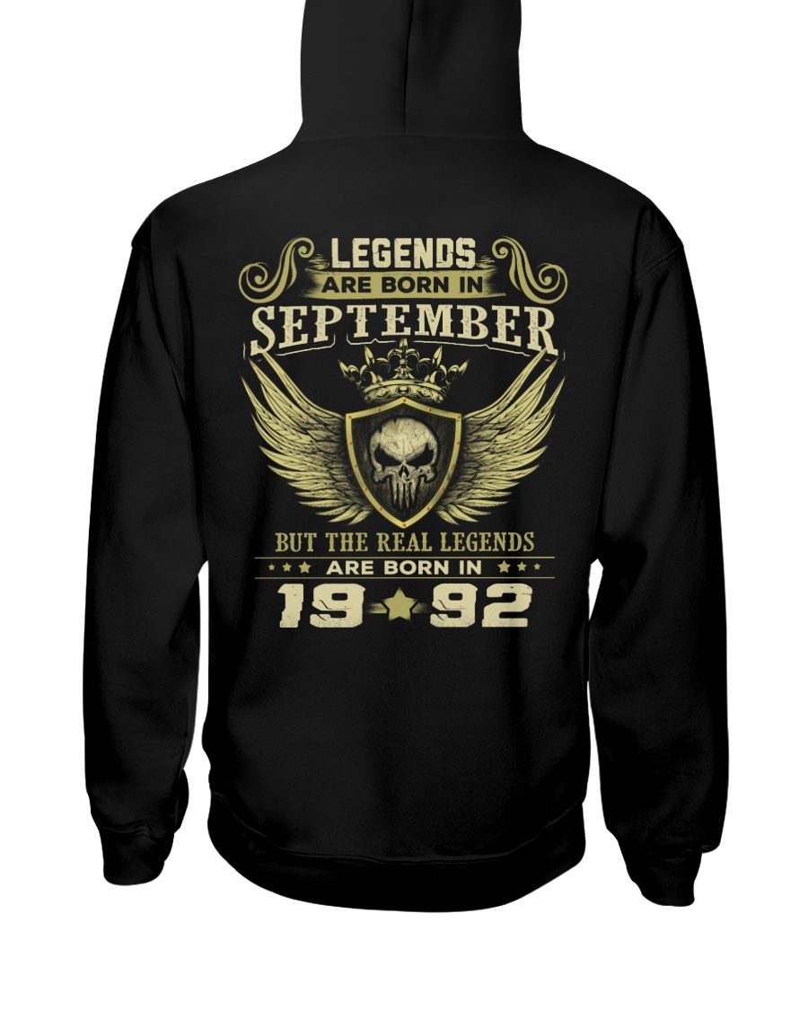 LEGENDS 92 9 Hooded Sweatshirt