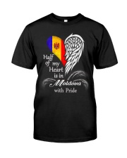 Heart - Pride Moldova Classic T-Shirt front