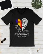 Heart - Pride Moldova Classic T-Shirt lifestyle-mens-crewneck-front-17
