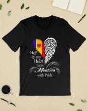 Heart - Pride Moldova Classic T-Shirt lifestyle-mens-crewneck-front-19