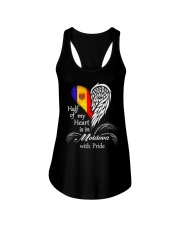 Heart - Pride Moldova Ladies Flowy Tank thumbnail