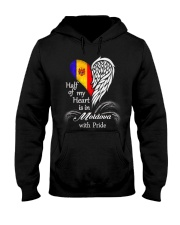 Heart - Pride Moldova Hooded Sweatshirt thumbnail