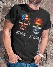 My Blood - Kiribati Classic T-Shirt lifestyle-mens-crewneck-front-4