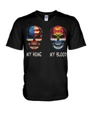My Blood - Kiribati V-Neck T-Shirt thumbnail