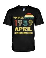 LIVING 59 4 V-Neck T-Shirt thumbnail