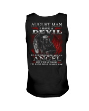 DEVIL MAN 8 Unisex Tank tile