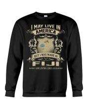 Live In America - Made In Fiji Crewneck Sweatshirt thumbnail