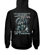 THRONE 9 Hooded Sweatshirt back