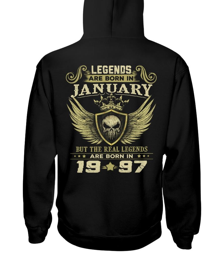LEGENDS 97 1 Hooded Sweatshirt