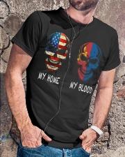 My Blood - Mongolia Classic T-Shirt lifestyle-mens-crewneck-front-4