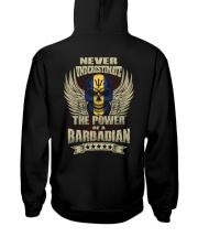 The Power - Barbadian Hooded Sweatshirt back