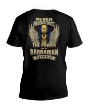 The Power - Barbadian V-Neck T-Shirt thumbnail