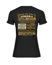 Queens Romania Premium Fit Ladies Tee thumbnail