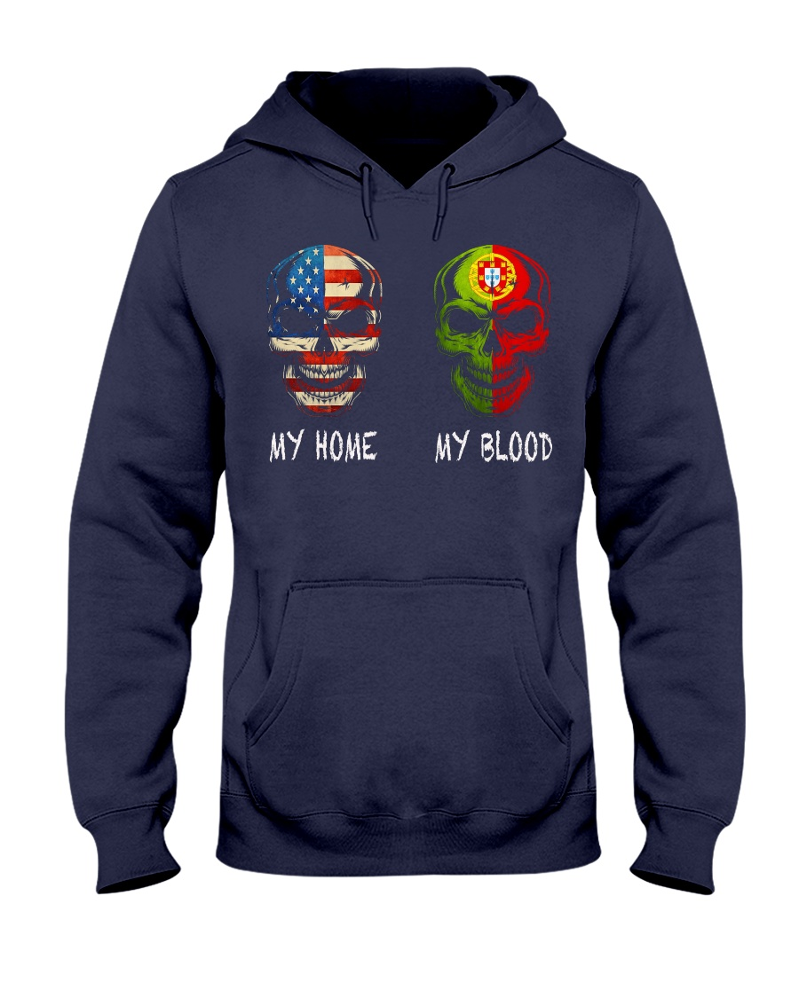 MY HOME AND MY BLOOD  Hooded Sweatshirt