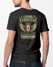 LEGENDS CANADIAN - 02 Classic T-Shirt lifestyle-mens-crewneck-back-5