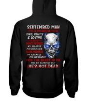 MY NATURE 9 Hooded Sweatshirt back