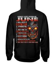 KING REAL 6 Hooded Sweatshirt back