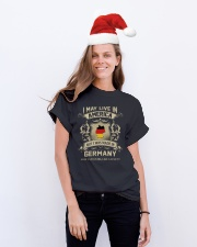 Live In America - Made In Germany Classic T-Shirt lifestyle-holiday-crewneck-front-1
